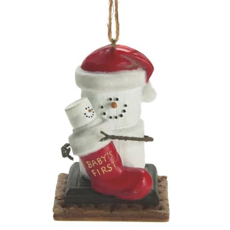 s mores baby s 1st christmas ornament