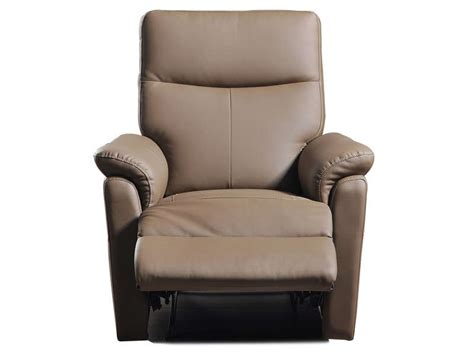 promotion 41 fauteuil relaxation jens coloris taupe
