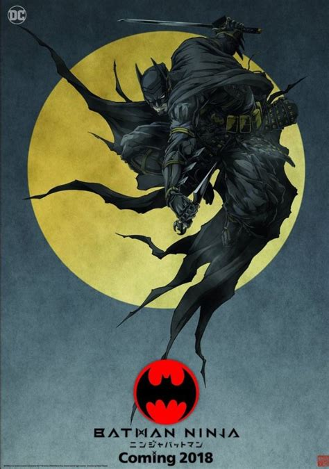 anime epic 2018 batman poster revealed for upcoming anime