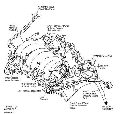 nissan maxima engine diagram  nissan maxima