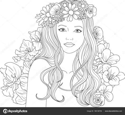 Kleurplaat Mooi by Kleurplaat Met Mooi Meisje