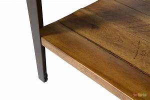 aspen rustic wooden slat coffee table in rough sawn wood With rough wood coffee table