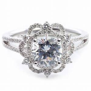vintage inspired diamond engagement rings diamondstud With vintage inspired wedding ring