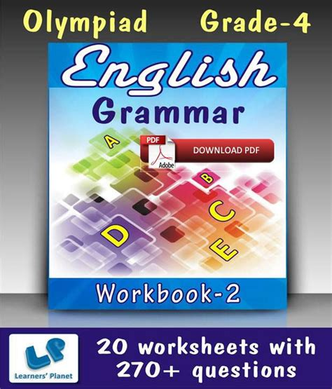 English Grammar Worksheets Pdf For Grade 4  Prepositions Exercises For Class 5 Pdf Parts Of