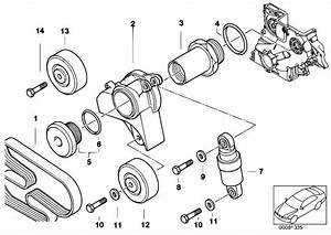 Original Parts For E46 320d M47 Sedan    Engine   Belt Drive
