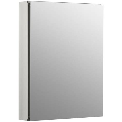 kohler medicine cabinets kohler clc 20 in x 26 in recessed or surface mount