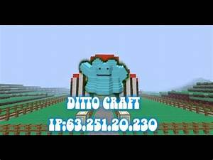 dittocraft pokemon server