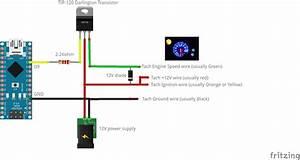 Arduino After Market Tach Support  U00b7 Zegreatclan