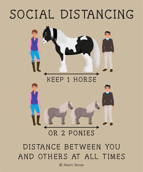 social distancing signs event horse stables events