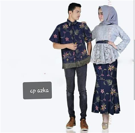 Untuk memilih baju yang kondangan yang bikin kita jadi percaya diri dan terlihat. Baju Couple Setelan Kebaya Brukat Rok Duyung & Kemeja ...