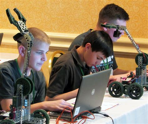 college  engineering led robotics workshops  annual