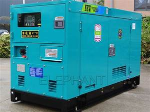 China 100kva Silent Denyo Diesel Generator Power By