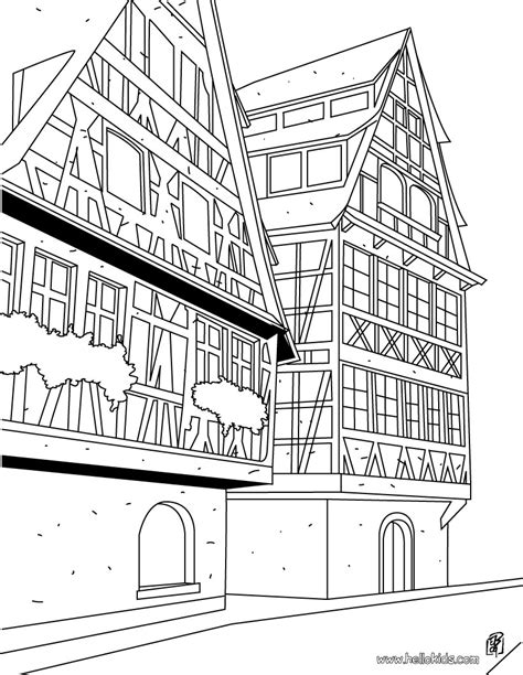 Coloring Sheets France
