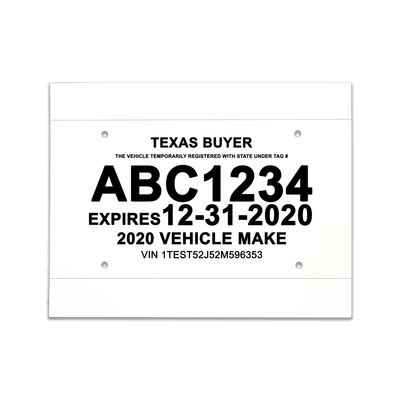 temporary license plate template buyer temporary license plate pictures to pin on thepinsta