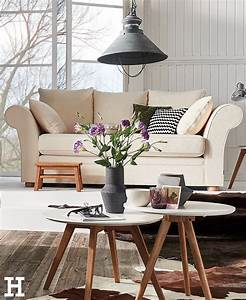 Gemütliche Wohnzimmer Farben : soho landhaus sofa wei webstoff olivia wohnzimmer pinterest gem tliche wohnzimmer ~ Markanthonyermac.com Haus und Dekorationen