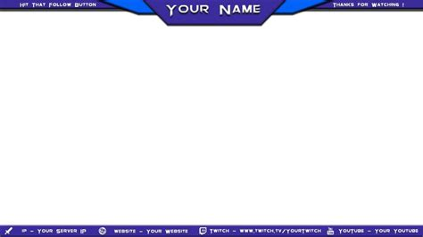 Obs Overlay Template Overlay By Fifigrafika Davyfzq Fabulous Obs Overlay