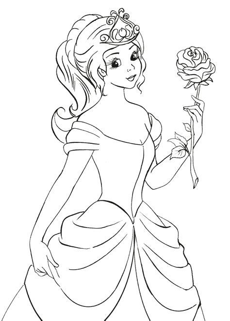 In questo gioco di hannah montana the movie devi scegliere uno dei tre disegni per colorare una scena nella quale appare hannah montana interpretata. Disegni da colorare - Principessa tiene una rosa