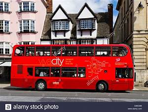 Viva City bus on the High Street in Oxford, Oxfordshire ...