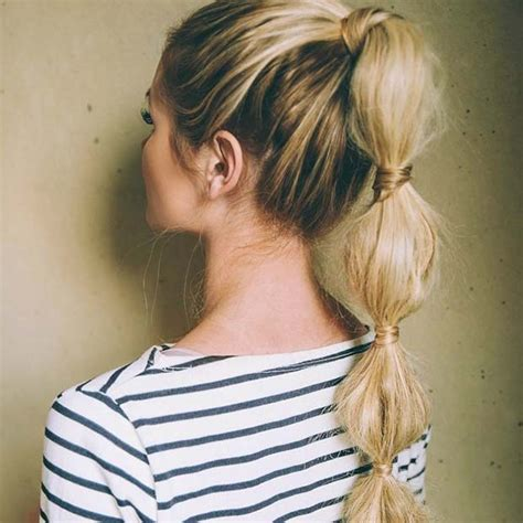 everyday ponytail hairstyles  fall hairstyles