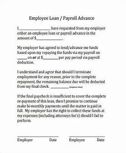 Sample Employee Loan Agreements 9 Free Documents in