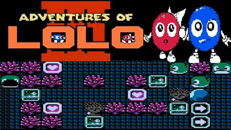 Adventures Of Lolo Nes Playthrough