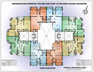 Apartment Complex Floor Plans    Design Bookmark  22243