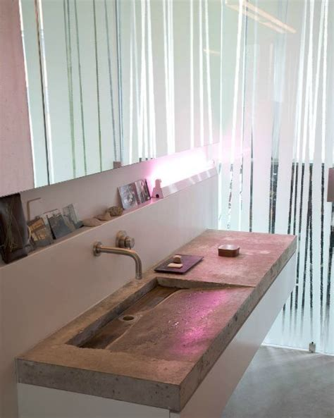 Concrete Countertop Bathroom by 17 Best Images About Concrete Countertops On