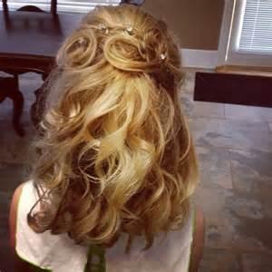 Little Girl Pageant Hair