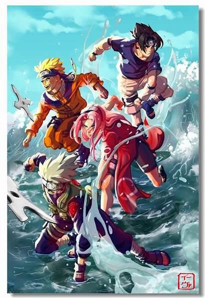 Sasuke Naruto Poster Uzumaki Wallpapers Wall Uchiha