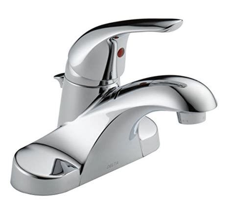 delta centerset single handle low arc bathroom faucet