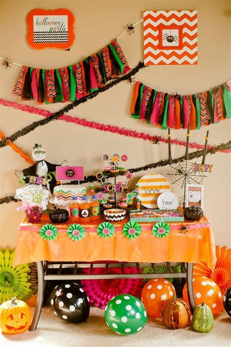 Partythemed Décor Ideas For Halloween