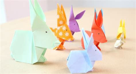 poule deco cuisine un lapin en origami prima