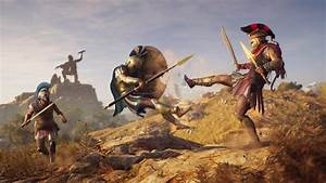 Assassin's Creed Odyssey Gameplay Spotlights Ground and ...