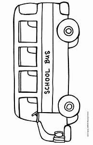 school bus coloring page | Preschool :) | Pinterest ...