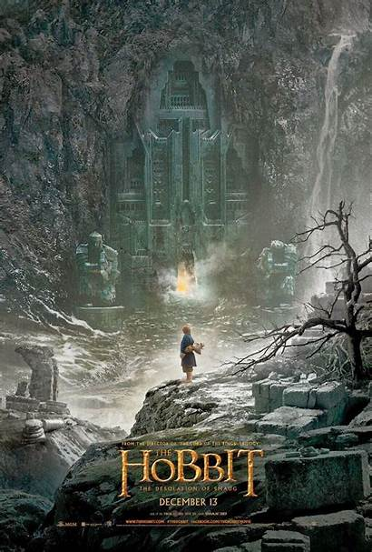 Hobbit Smaug Desolation Poster Hard Jackson Peter