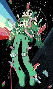 Psychedelic Astronaut Art : Steve Scott