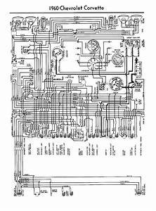 Chevrolet 1960 Corvette Wiring Electrical Diagram