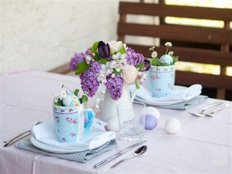 Easter Table Setting Ideas Crafts Lilac Jug Tulips Dyed Allen Roth Led Landscape Lighting Kitchen Fixtures Light Painting Cieling Lights Bathroom Globe Bulbs Kichler Cabinet Cabinets With Mirror And