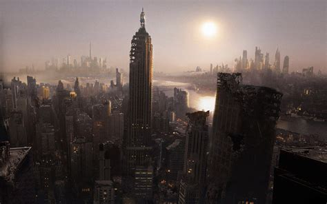 manhattan  york future city wallpapers pics