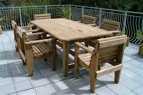 rustic patio tables and chairs outdoor decorations