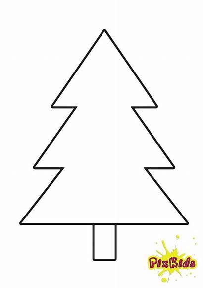 Tannenbaum Vorlage Zum Weihnachtsbaum Malvorlage Ausdrucken Kostenlos