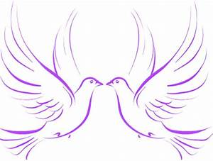 Wedding Doves | Free Images at Clker.com - vector clip art ...