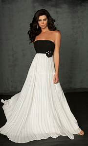 Black and white prom dresses can you pull them off? - Promsie