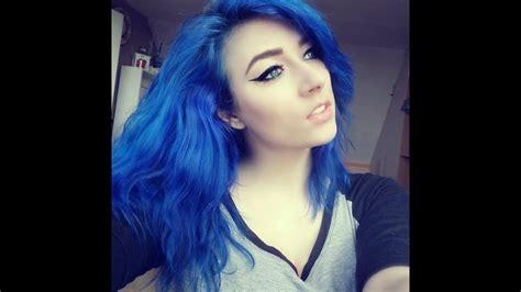 Manic Panic Rockabilly Blue Youtube