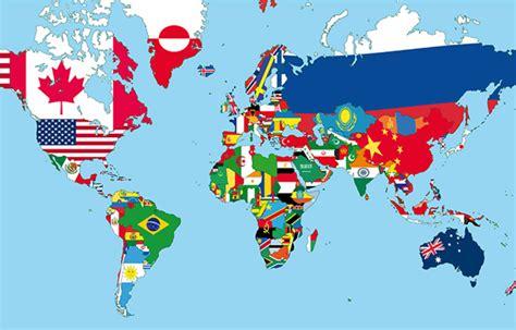tous les pays capitales  drapeaux du monde par continent