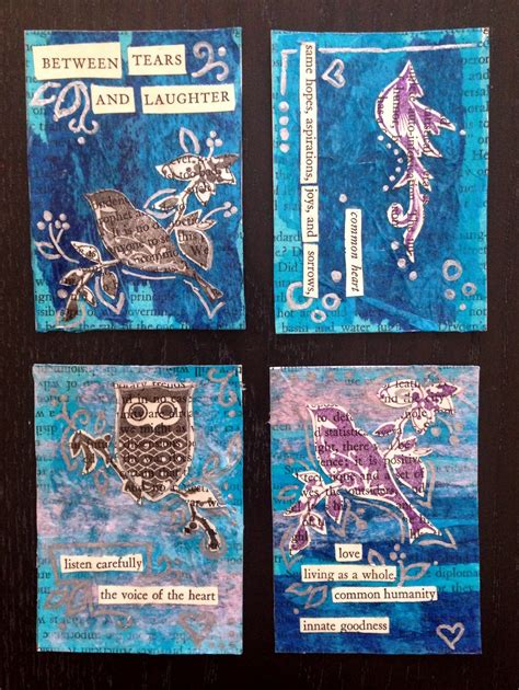artist trading cards promoting community creativity