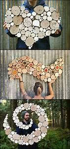 Blumengestecke Selber Machen Ideen : wanddeko aus holz selber machen ~ Markanthonyermac.com Haus und Dekorationen