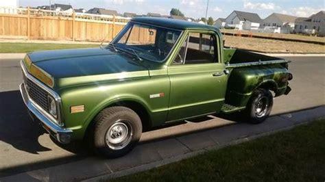 1971 Chevrolet C10 Stepside For Sale Brighton, Colorado