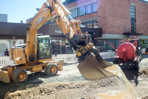 Construction Site in Joensuu City Centre - Sounds Of Changes