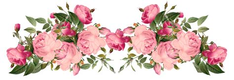 Flowers Borders Png Transparent Flowers Borders.png Images